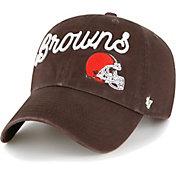 '47 Women's Cleveland Browns Brown Millie Adjustable Hat