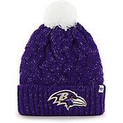 '47 Men's Baltimore Ravens Purple Fiona Cuffed Knit