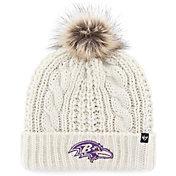 '47 Women's Baltimore Ravens White Meeko Knit
