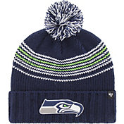 '47 Women's Seattle Seahawks Addison Navy Cuffed Knit