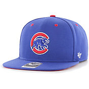 '47 Youth Boys' Chicago Cubs Royal Vow Captain Adjustable Snapback Hat
