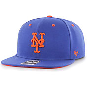 '47 Youth Boys' New York Mets Royal Vow Captain Adjustable Snapback Hat