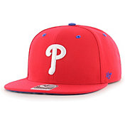 '47 Youth Boys' Philadelphia Phillies Red Vow Captain Adjustable Snapback Hat
