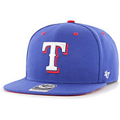 '47 Youth Boys' Texas Rangers Royal Vow Captain Adjustable Snapback Hat
