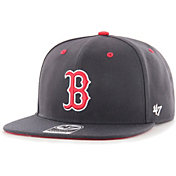 '47 Youth Boys' Boston Red Sox Navy Vow Captain Adjustable Snapback Hat