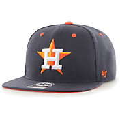 '47 Youth Boys' Houston Astros Navy Vow Captain Adjustable Snapback Hat