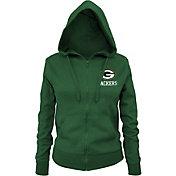 NFL Team Apparel Women's Green Bay Packers Green Full-Zip Hoodie