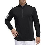 adidas Men's Midweight ½ Zip 3-Stripe Golf Pullover