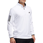 adidas Men's Midweight ½ Zip 3-Stripe Golf Pullover