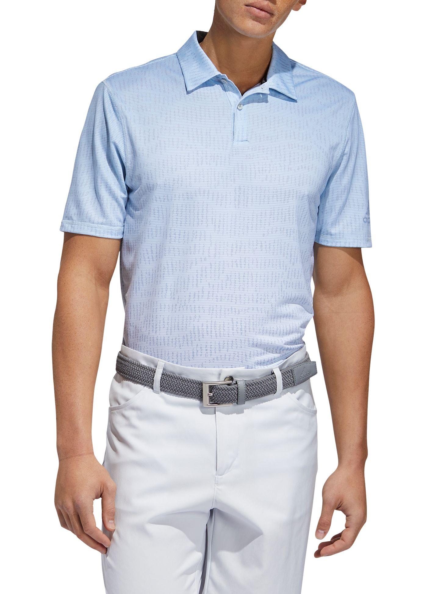 adidas Men's Primeblue Block Golf Polo