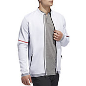 adidas Men's AdiCROSS Primeknit Full-Zip Golf Jacket