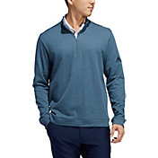 adidas Men's Heathered Layering ¼ Zip Golf Pullover