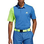 Adidas Men's Ultimate365 Blocked Print Golf Polo