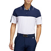 adidas Men's Ultimate365 Striped Golf Polo