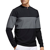 adidas Men's Lightweight ¼ Zip Golf Windbreaker