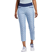 adidas Women's Printed Pull-On Ankle Golf Pants