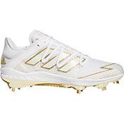 adidas Men's Afterburner 7 Gold Metal Baseball Cleats