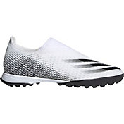 adidas Men's X Ghosted.3 Laceless Turf Soccer Cleats