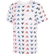 adidas Boys' Brand Love Printed T-Shirt