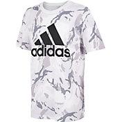 adidas Boys' Classic Camo Print T-Shirt
