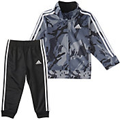 adidas Little Boys' Zip Front Classic Camo Jacket And Jogger Pants Set