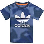 adidas Infants' All Over Print Camo Tee
