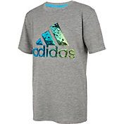 adidas Boys' AEROREADY Liquid Metal Graphic T-Shirt