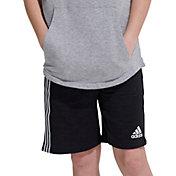 adidas Boys' 3-Stripe Tape Shorts