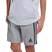 adidas Boys' 3-Stripe Tape Shorts