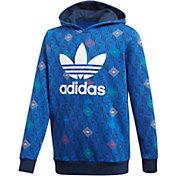 adidas Originals Boys' Multi Logo Trefoil Hoodie