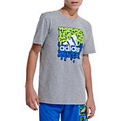 adidas Boys' Slime Graphic T-Shirt