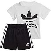 adidas Kid's Trefoil Tee Set