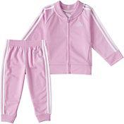 adidas Toddler Classic Tricot Jacket and Jogger Pants Set