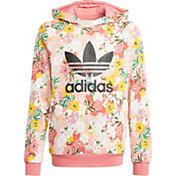 adidas Girl's Her Studio London Floral Hoodie