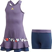 adidas Girls' Frill Tennis Dress