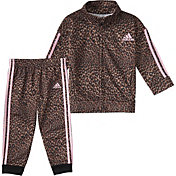 adidas Toddler Leopoard Tricot Jacket and Jogger Pants Set