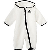 adidas Toddler Girls' Sherpa Hooded Onesie