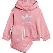 adidas Infant Girls' Trefoil Hoodie Set