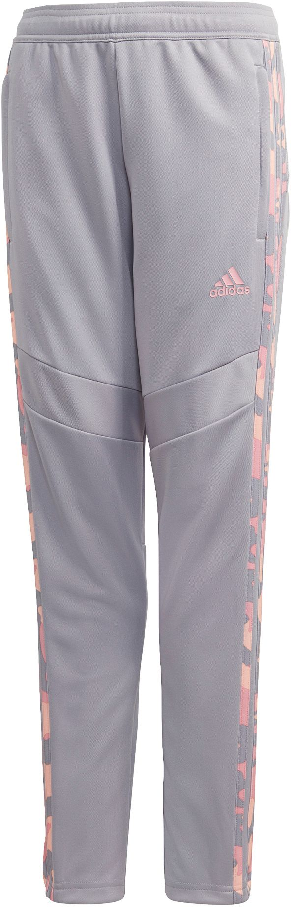 adidas Girls' Tiro 19 Training Pants, XXS, Gray