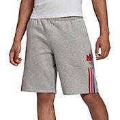 adidas Men's 3D Trefoil 3-Stripes Sweat Shorts