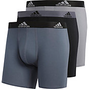 adidas Men's Cotton Boxer Brief – 3 Pack