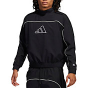 adidas Men's Harden Cross-Up Crew Sweatshirt
