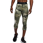 adidas Men's Alphaskin Camo 3/4 Tights