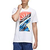 adidas Men's Climalite Color Blocked T-Shirt