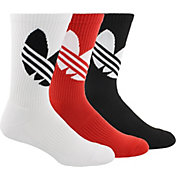 adidas Originals Big Trefoil Crew Socks – 3 Pack