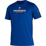 adidas Men's San Jose Earthquakes Royal Kickoff Creator Performance T-Shirt