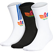 adidas Originals 3D Trefoil Crew Socks – 3 Pack