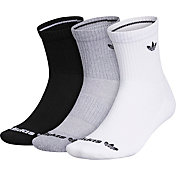 adidas Originals Trefoil Mid-Crew Socks – 3 Pack