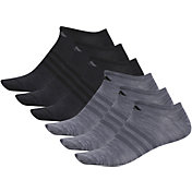 adidas Men's Superlite II No Show Socks 6 Pack