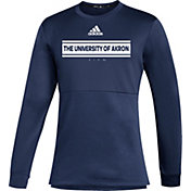 adidas Men's Akron Zips Navy Team Issue Crew Pullover Shirt